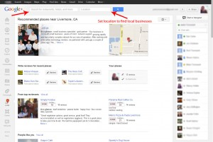 How to search for local businesses on Google+