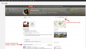 Where and how to write Google+ reviews for businesses
