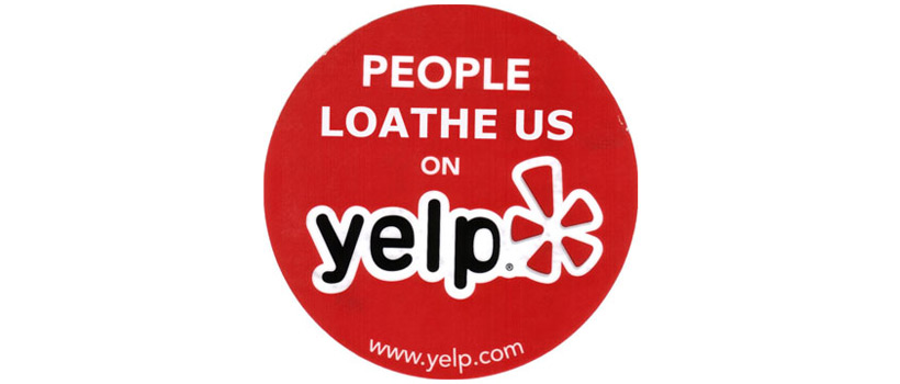 people loathe us on yelp - what to do about bad yelp reviews for your business