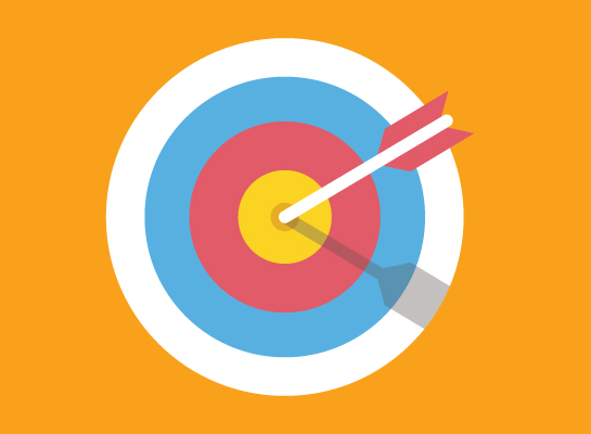 dartboard - our SEO friendly web designs help you hit the mark